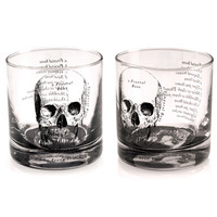 WHISKERS GLASS SET