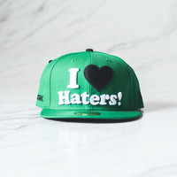 DGK I love Haters Fitted Cap - Green