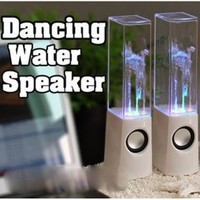 Apollo23 - LED Light Fountain Show Speakers Amplifier & Water Jets for MP3 iPhone 5 USB Laptop Computer