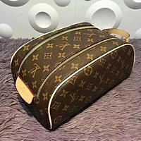 Alwayn LOUIS VUITTON TOILETRY COSMETIC BAG BAGS PURSE WALLET