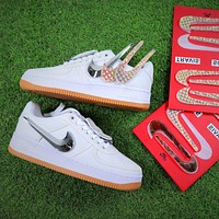 Travis Scott x Nike Air Force 1 AF1 100th Sport Shoes