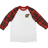 Plaid Donut Red Jersey – Odd Future