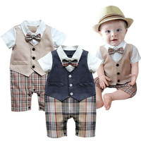 Baby Suit Newborn Romper Boys Outfit Kids Clothes Boy Clothing Kid Party Outfits-@n5 = 1945931076