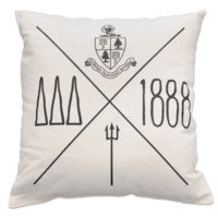 Canvas Pillow - Tri Delta