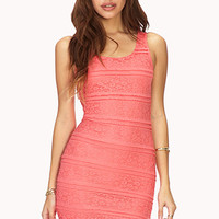 Lovely Lace Bodycon Dress