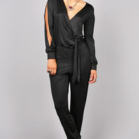 Luster Lengths Jumpsuit   Trendy Clothes at Pink Ice