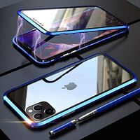 Double Sided Tempered Glass Case