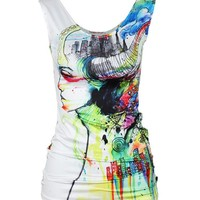 Summer Hot Beach Bralette Sexy Comfortable Stylish Print Casual Tops Vest [6049035201]