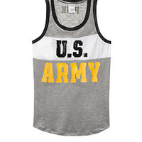 Army Bling Rib Neck Muscle Tank - PINK - Victoria's Secret