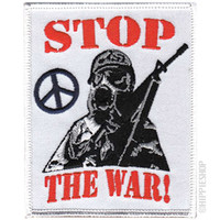 Peace Stop The War Patch on Sale for $4.99 at HippieShop.com