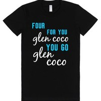 Mean Girls You Go Glen Coco Tee-Female Black T-Shirt