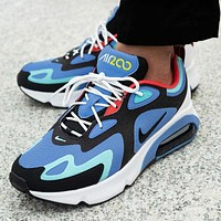 Nike Air Max 200 Fashionable Men Women Casual Air Cushion Running Sport Shoes Sneakers