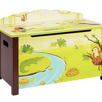 Guidecraft Jungle Party Toy Box - G86904