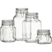 Fido 1-Liter Jar with Clamp Lid