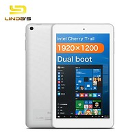 CUBE iWork8 Air Tablet PC Windows 10 Android 5.1 8.0 inch IPS Screen Cherry Trail Z8300/Z8350 64bit Quad Core 2GB 32GB Tablets