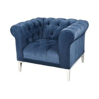 Sophie Chair Navy Blue Velvet