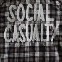 "5 Seconds of Summer 5SOS Inspired ""SOCIAL CASUALTY"" Flannel Mens L"