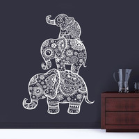 Three Elephant  Wall Decals