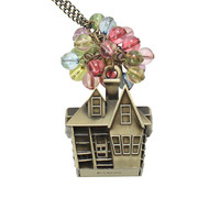 Disney Up House Balloon Necklace