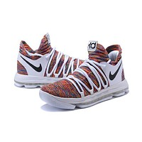 Nike Zoom KD 10 Kevin Durant Gray Colorful