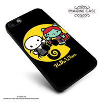 Hello kitty nightmare before Christmas case cover for iphone, ipod, ipad and galaxy series