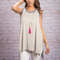 Adventure Of A Lifetime Tank, Heather Gray