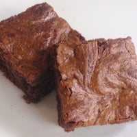 Nutella Cheesecake Brownies Chocolate by BakeAllTheThings on Etsy
