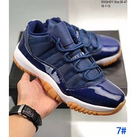 NIKE Air Jordan 11 Low AJ11 Fashion Men Women Personality Sport Sneakers Basketball Shoes 7#