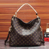 Louis Vuitton Fashion Women Shopping Leather Satchel Shoulder Bag Handbag Crossbody