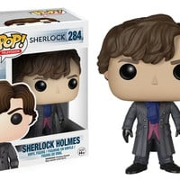 Sherlock TV Show Sherlock Holmes Pop! Television Funko Vinyl Figure New in Box NIP 284