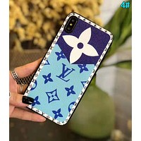 LV Louis Vuitton Newest Hot Sale iPhone Phone Cover Case For iphone 6 6s 6plus 6s-plus 7 7plus iPhone X XR XS XS MAX 4#