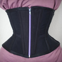 "The ""Field Engineer"" Underbust Corset - Extra Flexible Waist Training Corset"