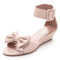RED Valentino Ankle Strap Bow Sandals | SHOPBOP