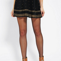 Urban Outfitters - Ecote Studded A-Line Skirt
