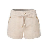 Lightweight Casual Linen Shorts Pants with Drawstring Waist (CLEARANCE)