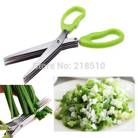 Multi-Functional Stainless Steel Kitchen Knives 5 Layer Scissors