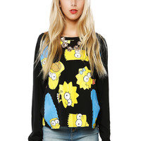 Papaya Clothing Online :: THE SIMPSONS GRAPHIC TOP