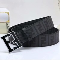 FENDI Woman Men Fashion Buckle Belt Leather Belt-1