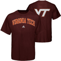 Virginia Tech Hokies adidas Relentless T-Shirt – Maroon
