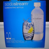 Sodastream 1L Carbonating Bottles Twin Pack