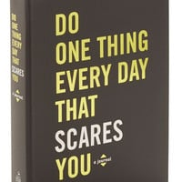 ModCloth Quirky Do One Thing Every Day That Scares You Journal