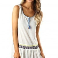 Indian Summer Embroidered Dress