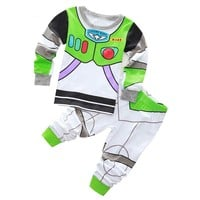 Super Mario party nes switch New Arrival Toddler Boy Clothes Set Buzz Lightyear Kids Pajamas Set Cartoon Children's pyjama T-shirt + Pants Boy Clothing Set AT_80_8