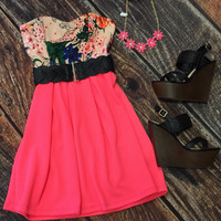 Summer Fling Dress: Pink