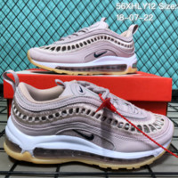 HCXX N090 Nike Air Max 97 Summer Hollow Breathable Casual Running Shoes Pink