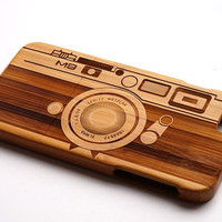 Wood Phone Case Camera iPhone 5 Cover for iPhone 5/5s/5c iPhone 6 iPhone 4/4s Samsung Galaxy S3/S4/S5 Galaxy S6 Samsung Galaxy Note2/3/4