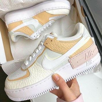 Nike Air Shadow simple color matching men's and women's low-top casual sneakers shoes