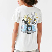 Junk Food Looney Tunes Road Trippin Tee - Urban Outfitters