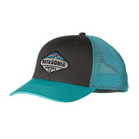 Patagonia Fitz Roy Crest LoPro Trucker Hat- Forge Grey