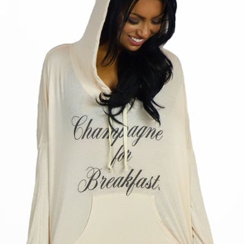 Royal Rabbit Champagne for Breakfast Sweater